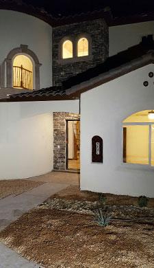 Custom Flagstone Home
