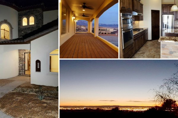 custom home in New Mexico